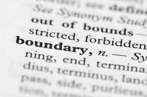 boundary rules